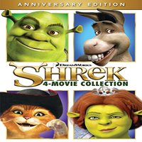 Shrek 4-Movie Collection (Anniversary Edition) (DVD)