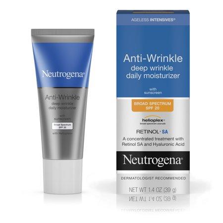 Neutrogena Ageless Intensives Wrinkle Cream SPF 20, 1.4