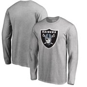 Oakland Raiders NFL Pro Line by Fanatics Branded Primary Logo Long-Sleeve T- Shirt 080cfe0a1