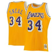 1b1873952bc0 Shaquille O Neal Los Angeles Lakers Mitchell   Ness 1996-97 Hardwood  Classics Swingman