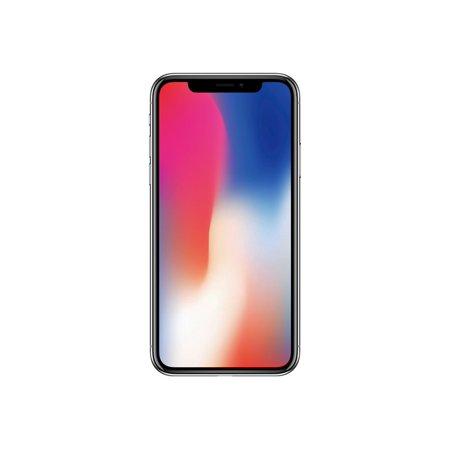 Unlocked Gsm Apple Iphone X 256gb Silver Walmart Com