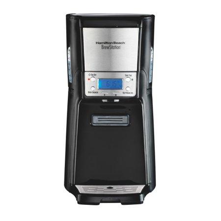Summit Single Shot - Hamilton Beach BrewStation Summit 12 Cup Programmable Coffee Maker | Model# 48464