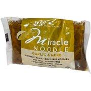 Miracle Noodle, Garlic & Herb, Shirataki Pasta, 7 oz (pack of 1)