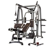 Marcy Deluxe Diamond Elite Smith Cage Workout Machine Total Body Gym   MD-9010G
