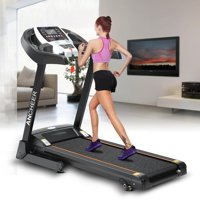 Holiday Clearance! ANCHEER Treadmill Blutooth&Wifi+Manual incline S5300 Folding Electric Treadmill STDTE