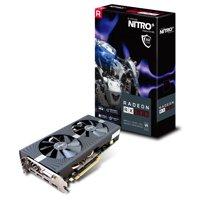 Sapphire NITRO+ RX 580 8GB GDDR5 PCI-E DUAL HDMI / DVI-D / DUAL DP OC W/BP (UEFI) Lite Retail Gaming Bundle Included - 11265-01-20G