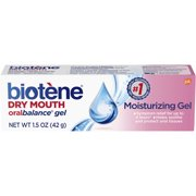 (3 pack) Biotene OralBalance Moisturizing Gel Flavor-Free, Alcohol-Free, for Dry Mouth, 1.5 ounce