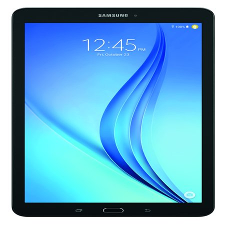 "SAMSUNG Galaxy Tab E 9.6"" 16GB Android 6.0 WiFi Tablet Black - Micro SD Card Slot - SM-T560NZKUXAR"