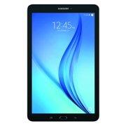 "SAMSUNG Galaxy Tab E 9.6"" 16GB Android 6.0 WiFi Tablet Black - Micro SD Card"
