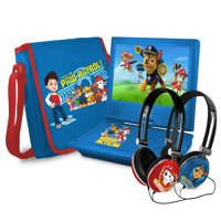 """Paw Patrol 9"""" Portable DVD Player with Talk-To-Speech (TTS) Functionality"""
