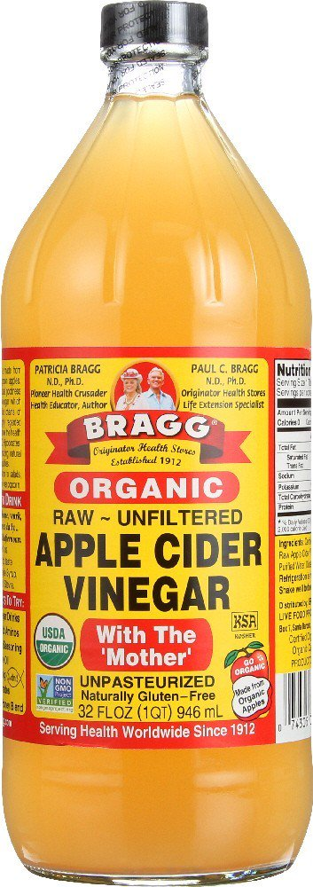 Bragg Organic Apple Cider Vinegar, Raw & Unfiltered, 32 Fl (Best Cider Apple Varieties)