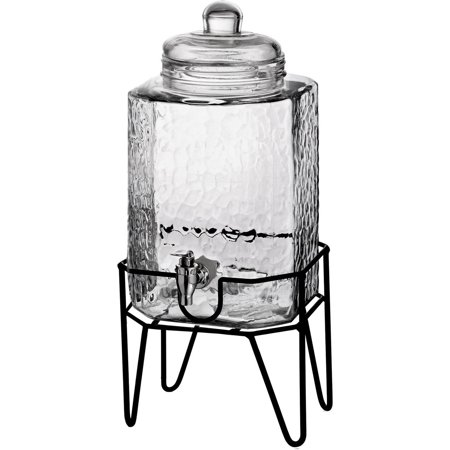 Glass Lemonade - Hamburg 1.5 Gallon Beverage Dispenser & Stand