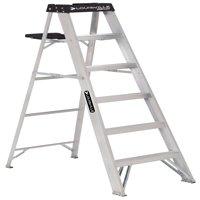Louisville Ladder 6-Foot Aluminum Stepladder, 250-Pound Capacity, Type I, W-2112-06S