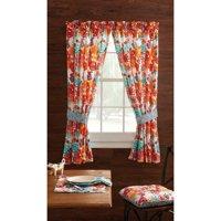"The Pioneer Woman Flea Market Window Curtain Panel, 40""W x 63""L, Set of 2"