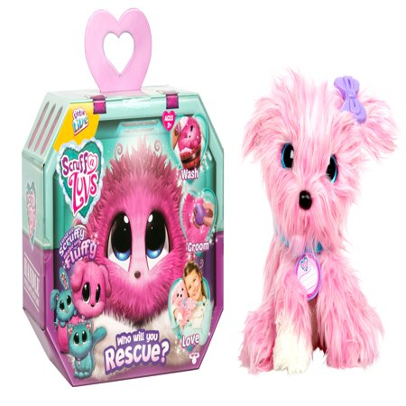 Little Live Scruff-a-Luvs, Pink (Animals That Live In Caves For Kids)