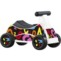 American Plastic Toys ABC & 123 Rider