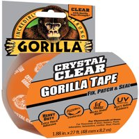 """Gorilla Crystal Clear Tape 1.88""""X27'-Clear"""