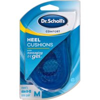 Dr. Scholl's Comfort Heel Cushions for Men, 1 Pair, Size 8-13