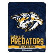 NHL Nashville Predators Breakaway 46x 60 Micro Raschel Throw