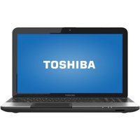 "Toshiba Mercury Silver 15.6"" Satellite C855S Laptop PC with Intel Pentium 2020M Processor and Windows 8 Operating System"
