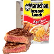 (12 Packs) Maruchan Beef Instant Lunch, 2.25 oz