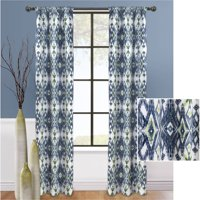 Mainstays Boho Chic Room Darkening Curtain, Set of 2