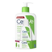 CeraVe Hydrating Face Wash, Cleanser for Normal to Dry Skin, 3 &16 oz.