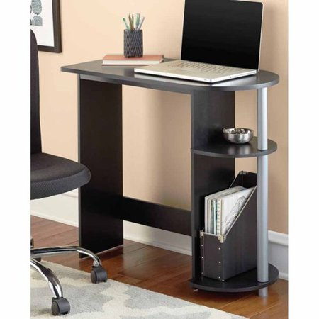Mainstays Computer Desk With Built In Shelves Multiple Colors