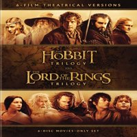 Middle-Earth Theatrical Collection: The Hobbit Trilogy and The Lord Of The Rings Trilogy (DVD)