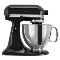 KitchenAid RRK150 Refurbished 5 Quart Artisan Series Tilt-Head Stand Mixer, Onyx Black (Certified Refurbished)