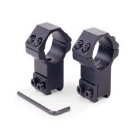 "CenterPoint Optics 2 Piece 1"" High Profile Ring Mount for Scopes CPM2PA-25H"