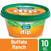 (2 Pack) Hidden Valley Ready-to-Eat Dip, Buffalo Ranch - 10 Ounces