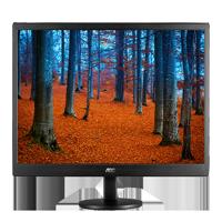 """AOC Monitor 18.5"""" 1366 x768 Res VGA E970SWN"""