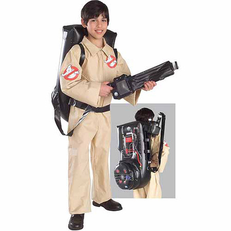 Ghostbusters Child Halloween Costume (Cheap Homemade Halloween Costume)