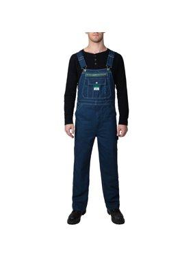 Big Men's 100% Cotton Rigid Denim Bib Overall