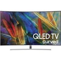"""SAMSUNG 55"""" Class Curved 4K (2160P) Ultra HD Smart QLED HDR TV (QN55Q7CAMFXZA)"""