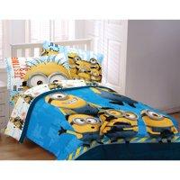 Minions Testing 1234 Twin/Full Comforter