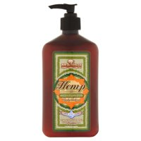 Malibu Tan Body Lotion for Dry Skin Hemp Moisturizer, 18 fl oz