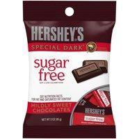 Hershey's Sugar-Free Special Dark Mildly Sweet Chocolates, 3 Oz.
