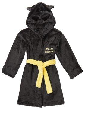 Batman Boys' Hooded Pajama Robe (Little Boys & Big Boys)