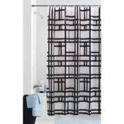 Mainstays Elements PEVA Geometric Shower Curtain or Liner