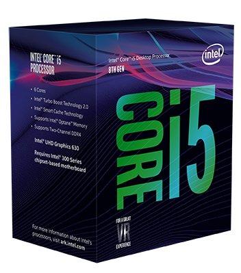 Intel Core i5-8400 Desktop Processor 6 Cores up to 4.0 GHz LGA 1151 300 Series
