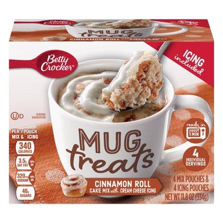 Betty Boop Coffee Mug ((6 Pack) Betty Crocker Mug Treats Cinnamon Roll )