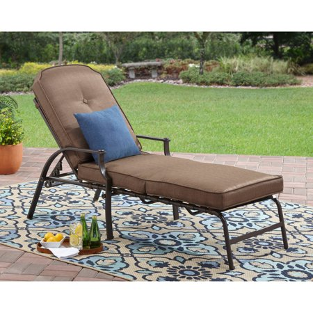 Mainstays Wentworth Chaise Lounge - Walmart.com