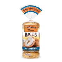 Thomas' Everything Soft & Chewy Pre-Sliced Bagels, 6 count, 20 oz
