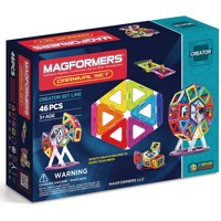 Magformers Magnetic Tiles 46 piece Carnival Accessory Set