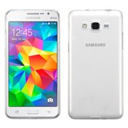 Insten TPU Rubber Candy Skin Case Cover For Samsung Galaxy Grand Prime - Clear