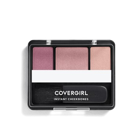 - COVERGIRL Instant Cheekbones Contouring Blush, 220 Purely Plum