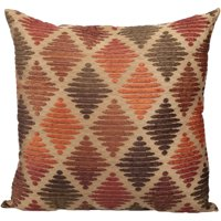 Better Homes and Gardens™ Rust Diamond Pillow