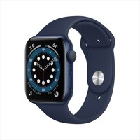 Deals on Apple Watch Series 6 GPS, 44mm Blue Aluminum Case
